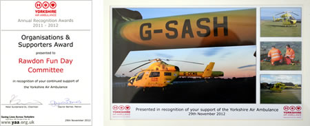 Yorkshire Air Ambulance Award